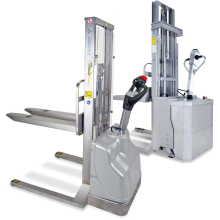 Electric Straddle Stacker (Stainless Steel) Astrolift