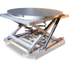 Pallet Scissor Lift Table (Spring - Stainless Steel) Astrolift