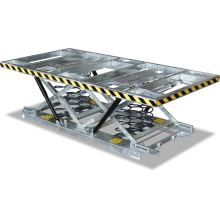 Pallet Scissor Lift Table Large (Spring - Galvanised) Astrolift