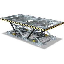 Pallet Scissor Lift Table Large (Spring - Stainless Steel) Astrolift