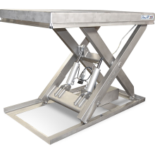 Scissor Lift Table (Electric - Stainless Steel) Astrolift