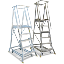 Platform Ladders - Wheeled-Chassis  Astrolift