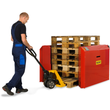 Stack-Only Air Pallet  Dispensers Astrolift