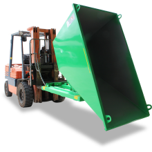 Hopper - Self-tipping Forklift Attachment Astrolift