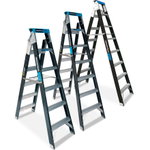 Step-Extension Ladders - Fibreglass Astrolift