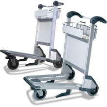 3-Wheel Airport Trolleys (Aluminium) Astrolift