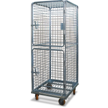 Cage Trolley (Dual door - horizontal with roof) Astrolift