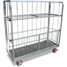 Cage Trolley (Pivoting-Shelf) Astrolift