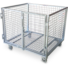 Cage Trolley (Dual-door - Small) Astrolift