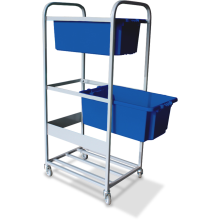 Order-picking Trolley (3 Shelf - Bins) Astrolift