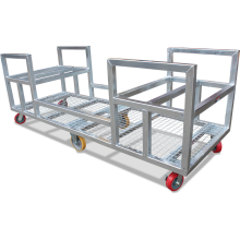 Timber Trolley (Galvanised) Astrolift