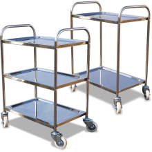 Order-picking Trolley (2-3 Shelf - Stainless Steel) Astrolift
