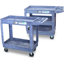 Order-picking Trolley (2-3 Shelf - Plastic) Astrolift