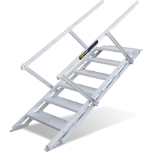 Self-levelling Stairs - Portable Truck Access Astrolift