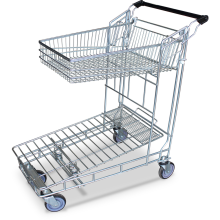 Shopping Trolley Folding-shelf  Astrolift