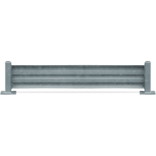 Traffic Barrier - GuardX (Galvanised) Astrolift