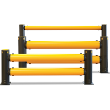 Traffic Barrier Double - A-Safe (Flexible Plastic) Astrolift