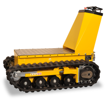 Electric Dumper - Flatbed on Tracks Astrolift