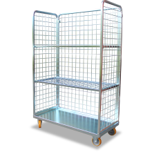 Cage Trolley (Shelved - Long) Astrolift