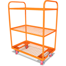 Order-picking Trolley (3-shelf Steel Mesh) Astrolift