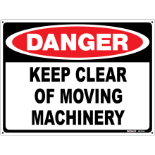 Keep Clear of Moving Machinery Astrolift
