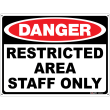 Restricted Area Staff Only Astrolift