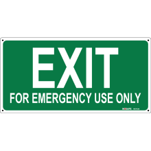 Exit For Emergency Use Only Astrolift