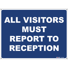 All Visitors Must Report To Reception Astrolift