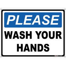 Please Wash Your Hands Astrolift