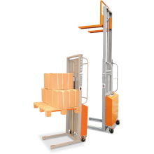 Semi-electric Pallet Stacker (Compact) Astrolift